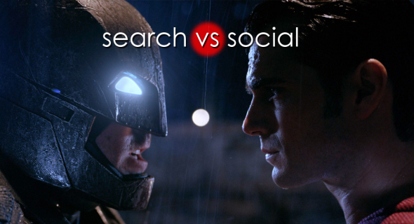 Contenuti Search VS Social