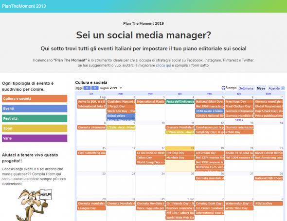 Calendario Social.Il Calendario Social Per Il Tuo Piano Editoriale Xodus New